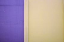 Mur bicolore